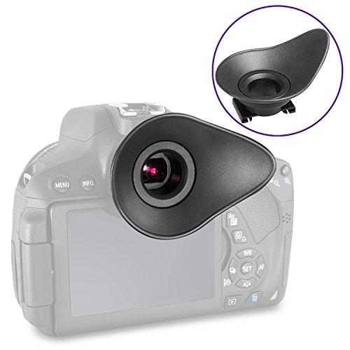 Altura Photo Rubber Eyepiece Eyecup for Canon EOS 90D 80D 77D 70D Rebel T7 T7i T6i T6s T6 SL2 SL3 DSLR Cameras