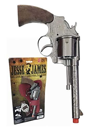 PARRIS CLASSIC QUALITY TOYS EST. 1936 Jesse James Pistol Holster Set Toy