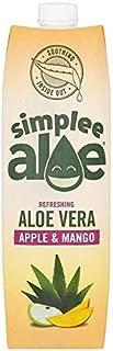 Simplee Aloe Aloe Vera Juice With Apple & Mango - 1L (35.19 fl oz)