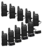 Retevis RT22 2 Way Radios Long Range Rechargeable 16 Channel FRS Small VOX