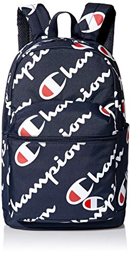 Champion Kids' Big Supercize Backpack, Navy, Youth Size