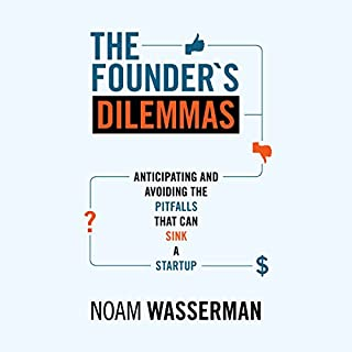 The Founder's Dilemmas cover art