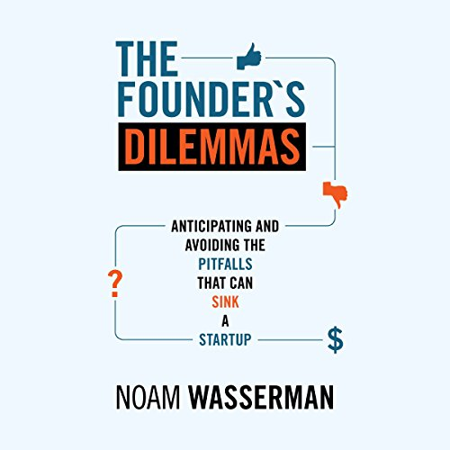 The Founder's Dilemmas audiobook cover art