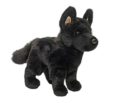 Douglas Harko Black German Shepherd Dog Plush Stuffed Animal