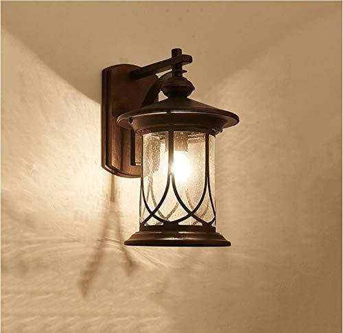 Wandlamp voor buiten, rustiek, commercieel, antiek industrieel ontwerp