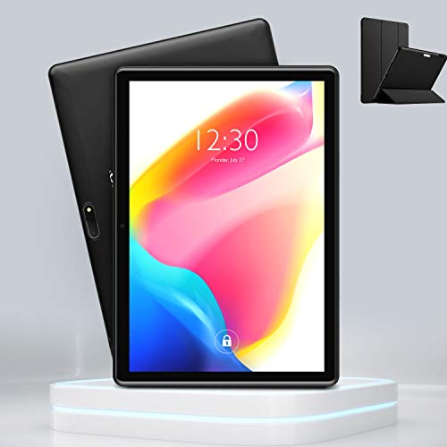 Tablet, Android 9.0 Pie, 10.1 pulgadas Tabletas PC Quad-Core con 3GB RAM 32GB ROM, IPS HD Display, 8MP Cámara trasera, Bluetooth 5.0,...