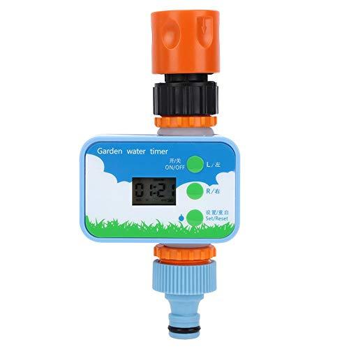 Vikye Bewässerungsuhr, G1/2 Zoll Garten Zeitschaltuhr, Magnetventil Intelligenter Gartenbewässerungssystem Wassertimer mit Anschluss