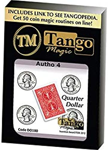 Autho 4 Quarter (Gimmicks and Online Instructions) (D0181) by Tango - Trick