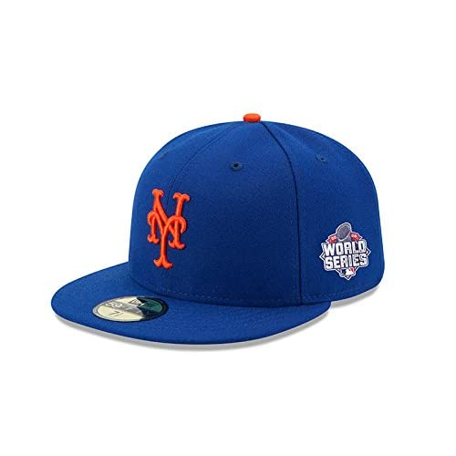 ade1983f78f MLB New York Mets Adult World Series AC On Field 59Fifty Cap