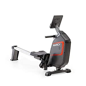 Marcy Foldable Magnetic Resistance Rowing Machine NS-6002RE – Adjustable Resistance and Transport Wheels