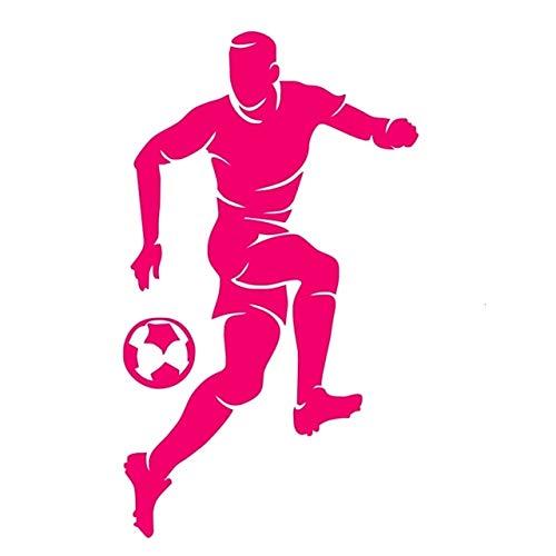 29x59cm, Wandsticker, Fenstersticker, PVC Sport Fußball Spieler Portrait Kinder Bett Dekorative Grafik Tapete Wandbild Schlafzimmer Jugendsticker Haus Bild