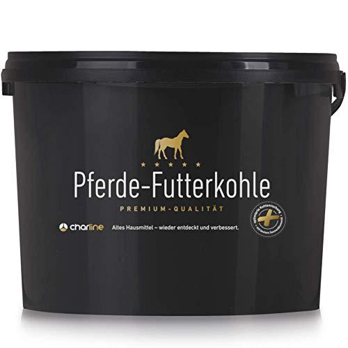 Charline Futterkohle Pellets für Pferde 3 kg