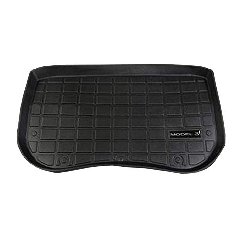 Semoic Kofferraum Aufbewahrung Matte Kofferraum wasserdichte Schutz Polster Matte Kompatibel für Tesla Model 3 (Front Box Matte)