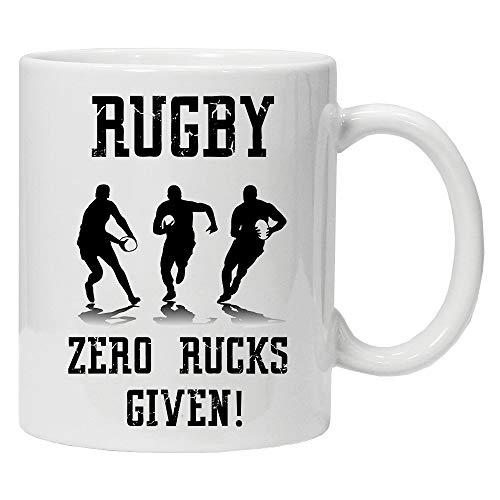Rugby Zero Rucks Given - Leuke nieuwigheid thee koffie drinken mok cup