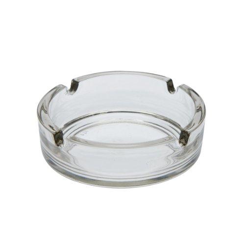 Arcoroc ARC C1320 Cologne Aschenbecher, 10,7 cm, Ascher, Glas, transparent, 1 Stück