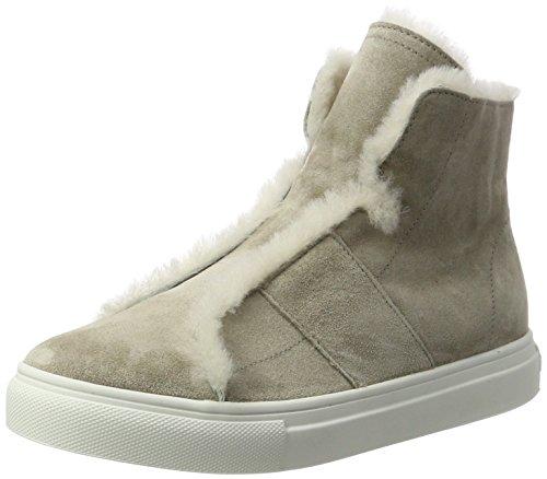 Kennel und Schmenger Kennel und Schmenger Damen Basket Hohe Sneaker, Grau (Elefant/Nature Sohle Weiss), 39 EU (6 UK)