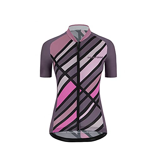 UGLY FROG Herren Radtrikot, Fahrradtrikot Fahrrad Shirt Fahrradbekleidung Radshirt für Männer, Atmungsaktive Cycling Top