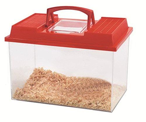 SAVIC Caja Transporte Fauna Box-1.5 L, 17.5 x 11.5 x 13 cm