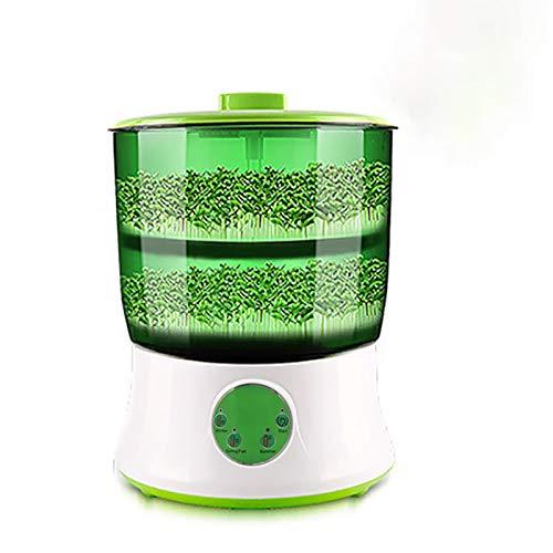 PINZHENG Fabricante de brotes de Frijoles automáticos, termostato germinador eléctrico Verde semillero...
