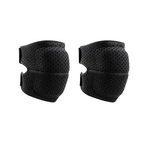 ZLININ Kniebandage für Männer und Frauen, elastisch, Knieschoner, Kniescheiben-Bandage, Druckunterstützung, Basketball, Laufen, Fitness, Sport, Ausrüstung (Farbe: Rot, Größe: L)
