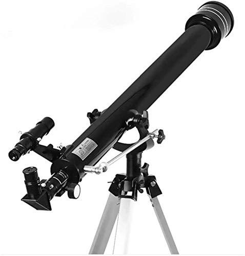 Gåva 675Tider Zooma Utomhus Monokulärt rymd Astronomiskt teleskop med bärbart stativ Spotting Scope 900 / 60M