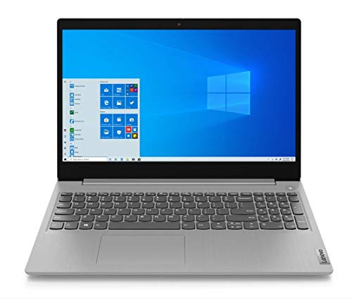 "Lenovo IdeaPad 3 - Portátil 15.6"" FullHD (Intel Core i3-1005G1, 8GB RAM, 256GB SSD, Intel UHD Graphics, Windows 10 Home en modo S), Color Gris - Teclado QWERTY Español"