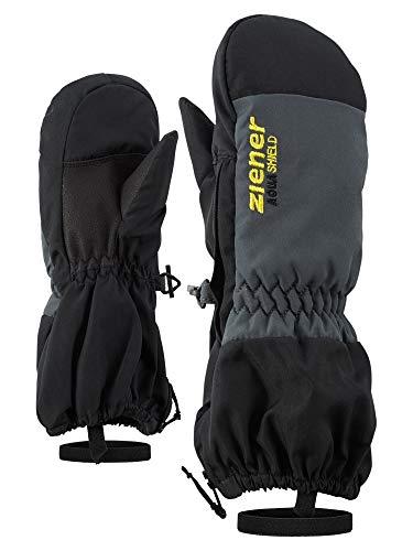 Ziener Baby LEVI AS MINIS glove Ski-handschuhe / Wintersport   wasserdicht, atmungsaktiv, schwarz (black), 116