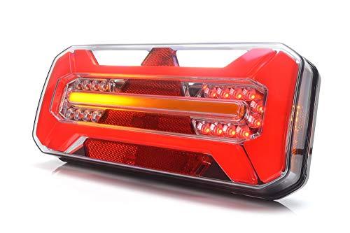 LED Rückleuchte LKW PKW Anhänger 7 Funktionen RECHT 12V-24V 1281DD P
