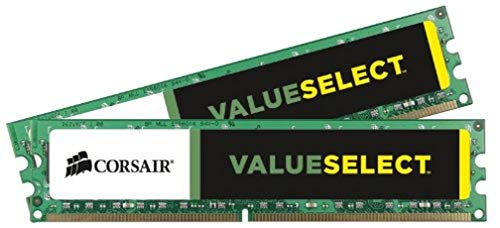 Corsair CMV8GX3M2A1333C9 Value Select 8GB (2x4GB) DDR3 1333 Mhz CL9 Standard Desktop Memory