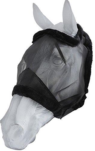Reitsport Amesbichler Fliegenmaske Insektenmaske mit UV Schutz, Gr. XL, ohne Ohren, Fly mask with UV Protection