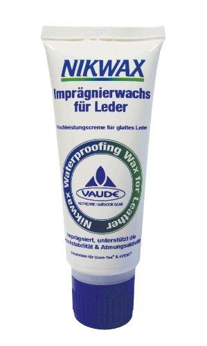 Vaude Nikwax Imprägnierwachs für Leder, 100ml (VPE12) Schuhpflege, black, One size