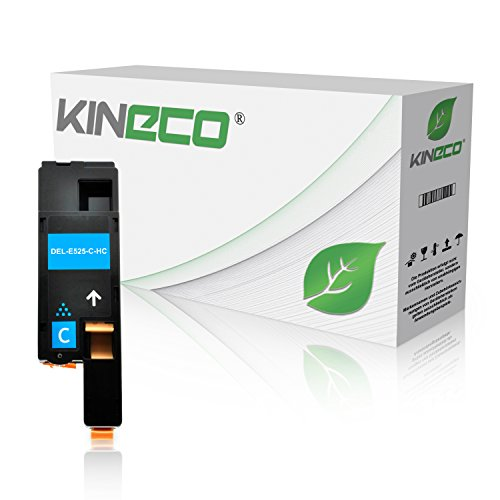 Kineco Toner kompatibel zu Dell E525w Multifunktionsdrucker - 593-BBJU - Cyan 1.400 Seiten