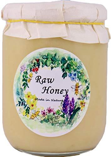 2019年新蜜入荷【数量限定北欧産】春 生はちみつ 自然保護地区で採取された 天然 非加熱 だから酵素ビタミンミネラルがたっぷりの百花種の春、夏、秋、蜂蜜 【ギフト、お歳暮、お中元、お祝いに対応】(3代目養蜂家)【Raw Honey PASAKA】