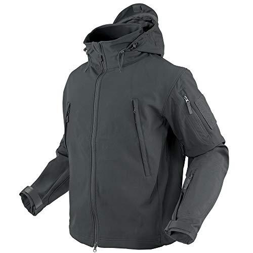 Condor Summit Soft Shell Jacket (X-Large, Graphite)