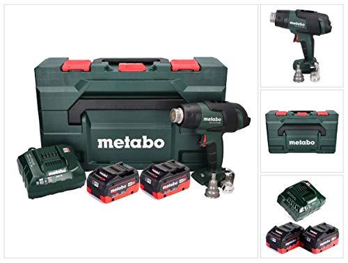 Metabo HG 18 LTX 500 Akku Heißluftgebläse 18 V 300-500 °C + 2x Akku 8,0 Ah + Ladegerät + MetaBox