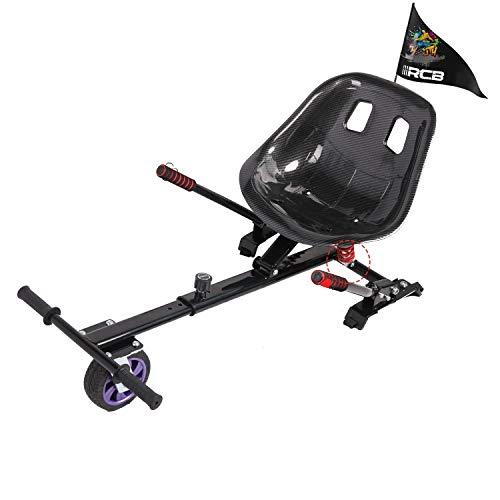 GeekMe Hoverboard Sitz,Hoverkart,Off-Road hoverkart,Hoverboard Sitz mit Stoßdämpfung,Hoverkart passend für 6.5/8.5/10 inch Hoverboard,Geschenk für Kinder