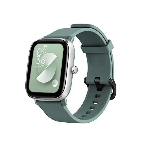 """Amazfit GTS 2 Mini Smartwatch Orologio Intelligente AMOLED da 1,55"""", 70 Modalità di Allenamento con GPS, 5 ATM Impermeabile, Monitor del Sonno, Durata della Batteria di 14 giorni, Uomo, Donna (Verde)"""