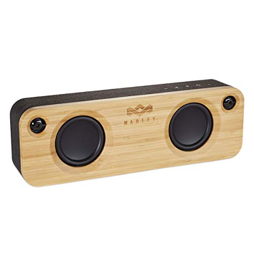 House of Marley Get Together Cassa Altoparlante Portatile Bluetooth Wireless, Porta USB per Caricare Altri Dispositivi, Ingresso...