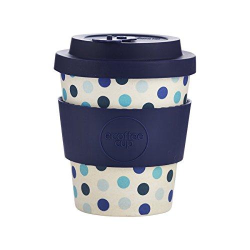 Ecoffee Cup Blue Polka Azul, Blanco Café 1pieza(s) tazón - Taza/Vaso (Solo,...