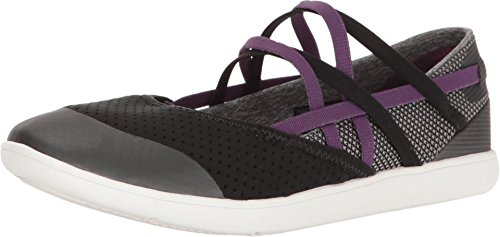 Teva Womens W Hydro -Life Closed Toe Slip On Slippers, Black, Size 9.5