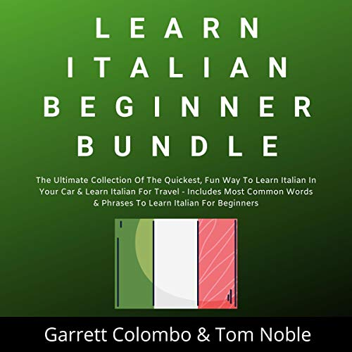 Learn Italian Beginner Bundle Collection cover art