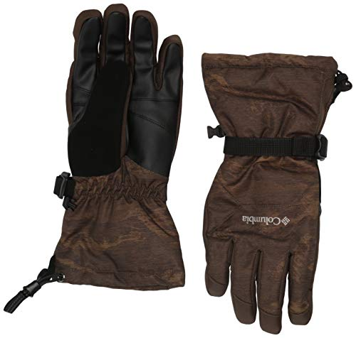 Columbia Men's Whirlibird Glove, Olive Green Mountains Jacquard, Medium
