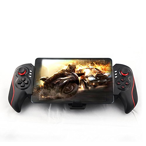 Bluetooth Gaming Controller Dual Motor Turbo Gamepad for Android/iOS for iOS iPhone,iPad, Android Phone, Smartphone / Tablet / Smart TV / Set Top Box,Size: 25.4x6.3x15.5cm
