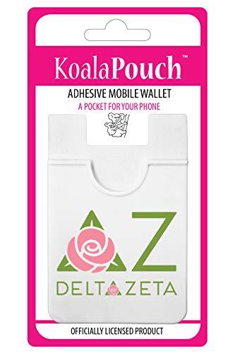 Delta Zeta - Koala Pouch - Adhesive Cell Phone Wallet