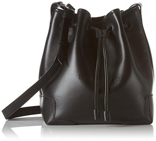 Balenciaga 409000 - Mochila de Cuero Mujer, Color Negro, Talla 15x25x22 cm (B x H x T)