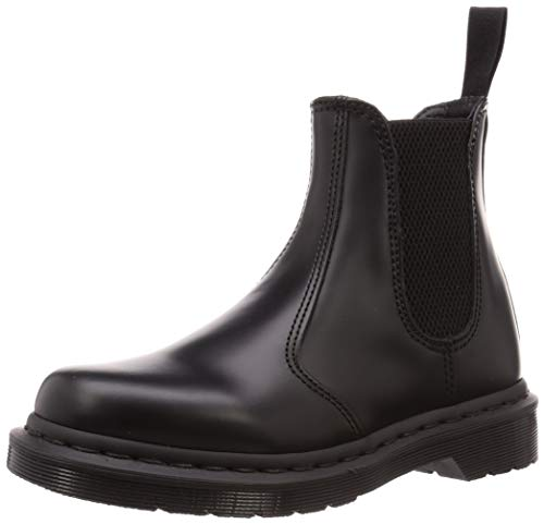 Dr.Martens Unisex 2976 Mono Smooth Leather Black Stiefel 40 EU