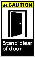 メタルレリーフスタンドクリアドア注意Style979ブリキの壁サインレトロな鉄の絵金属ポスター警告プラークアートガレージホームガーデンストアバーコーヒー