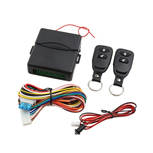 uxcell Universal Auto Car Remote Central Kit Door Lock Keyless Entry System