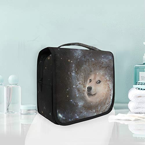 Trousse de maquillage de voyage Trousse de toilette de voyage portable Galaxy Galaxy pour chien Galaxy