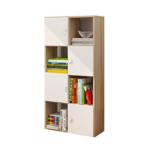 Bookcases, Cabinets & Shelves Bookshelf Floor Bookcase Locker Home Children's Bedroom Combination Bookcase Student Locker Bookcase Rack Load Weight 100kg Best Gift